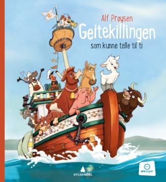 Bok til tegnefilmen, Gyldendal, 2015. Illustrert av teamet i Sandnes Media,.