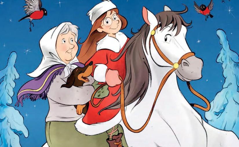 «Mormor og de åtte ungene» julehefte2015