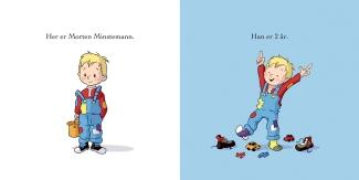 """Fra """"Her kommer Morten Minstemann"""""""