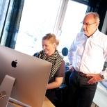 Ann-Kristin Lie og Sven Erik Sandnes