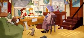 Mysteriet starter med besøk på detektivkontoret i Bakergata.
