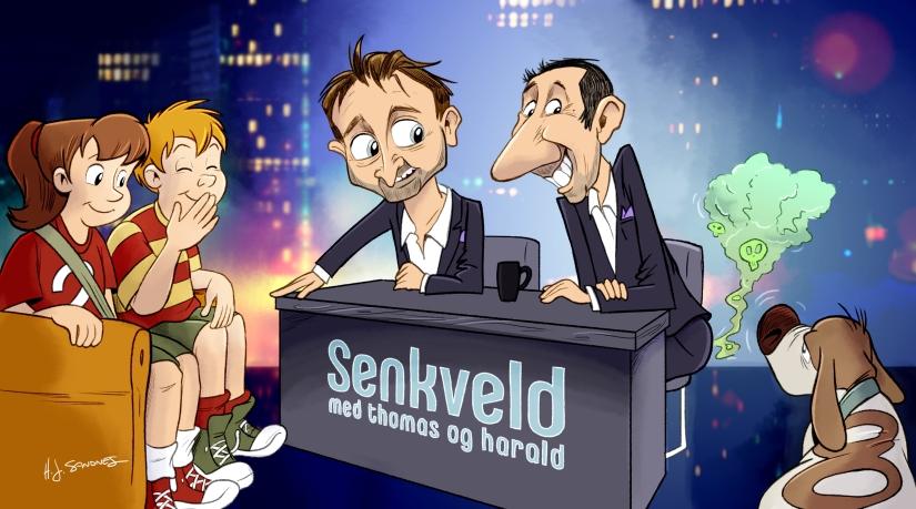Senkveld med Thomas og Harald –og Detektivbyrå nr.2