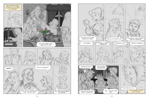 I arbeid –de samme sidene som skisser.