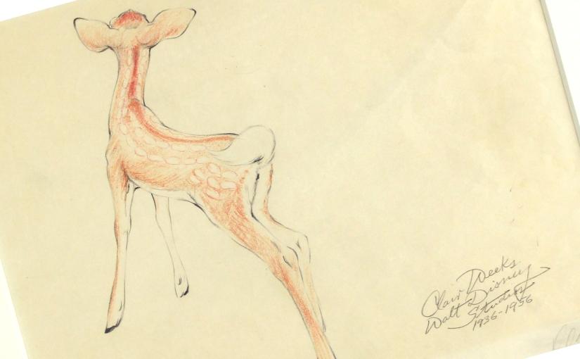 Original «Bambi» av ClairWeeks